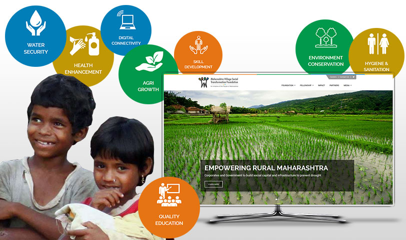Maharashtra Village Social Transformation Foundation website