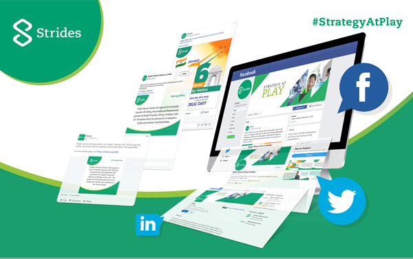 Strides Pharma social media management