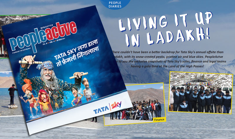Tata Sky People Actve magazine