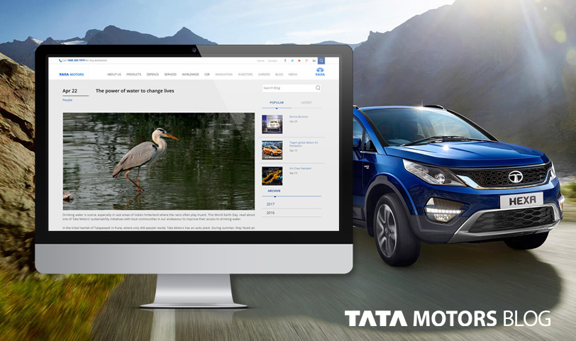 Tata Motors blog