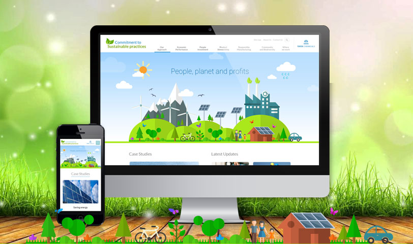 TCL Sustainability website