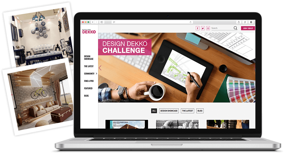 Design Dekko website