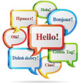 Web content translation services